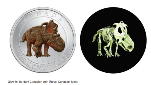 hammerito:  Canada issues glow-in-the-dark dinosaur quarter  This makes me really happy