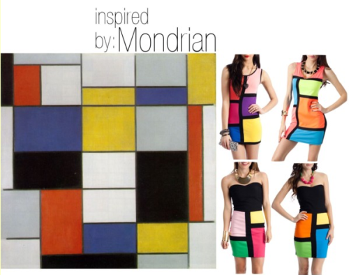 (via Lovely At Your Side: Inspired By: Mondrian)