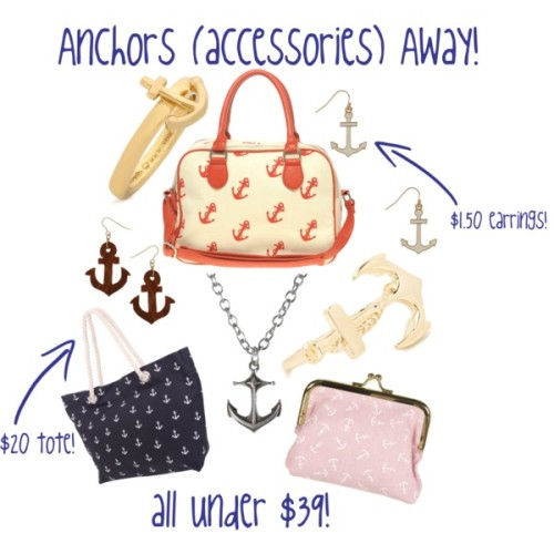 (via Lovely At Your Side: Anchors (Accessories) Away!)