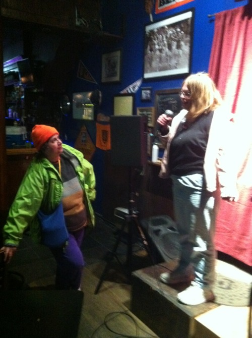 Sweet Gail and Astrid. The Poison Ivy & Harley Quinn of San Francisco comedy.