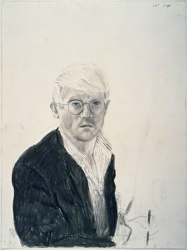 artistandstudio:  David Hockney, Self-Portrait