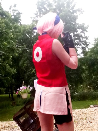 My Sakura Cosplay that was for Anime World Chicago last summer xO
