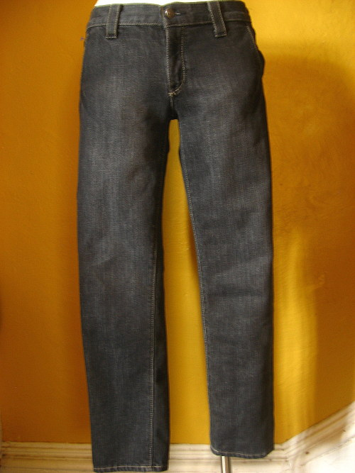 women's GAP skinny jeans dark rinse blue denim SIZE 4 | eBay