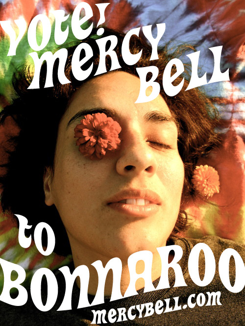 mercybell:  KEEP VOTING ME TO BONNAROO! You can also download my album for free here. photo credit Sara Olivia Moore  Please do this :)