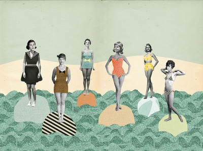 The bikini timeline on Flickr. Illustration for Foam Magazine The bikini Timeline 400-2012 http://foammagazine.com/articles/1713-the-bikini-timeline