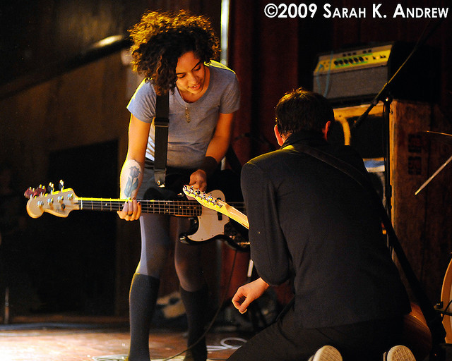 The Thermals at The Bell House by Rock and Racehorses on Flickr.