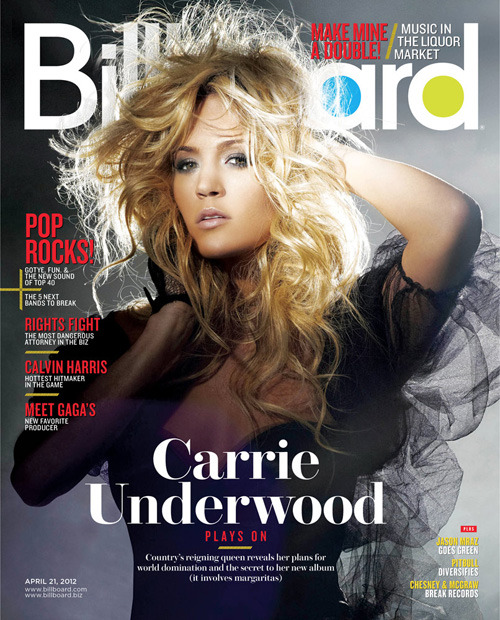Get a sneak peek at our Carrie Underwood cover — out tomorrow! Country's reigning queen reveals her plans for world domination and the secret to her new album (it involves margaritas).