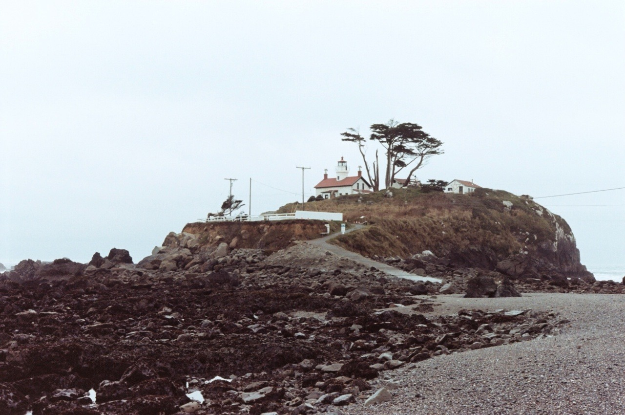 Battery Point Lighthouse Crescent City, CA; Nikon F3HP; Kodak Portra 160NC Pacific Coasting