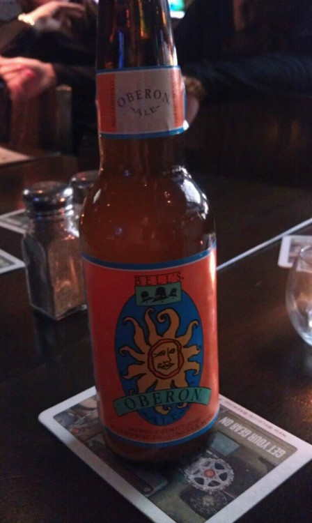 First Oberon of the year. With good buds by my side.