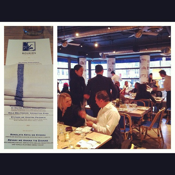 Excited for dinner @BoukiesNYC w the @TeamEpiphany fam (Taken with instagram)