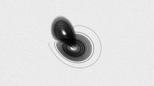 Lorenz attractor by pretendy