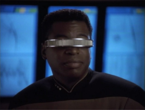 """You never really look for something until you need it."" - Geordi LaForge"