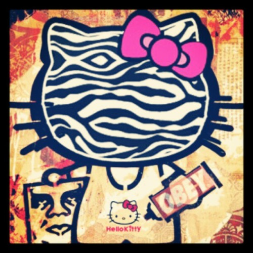 i'M iN LOVE #TEAM HELLO KiTTY<3 (Taken with instagram)