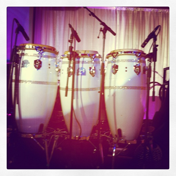 These will be played by Sheila E. tonight. #myjobisalright :) (Taken with instagram)
