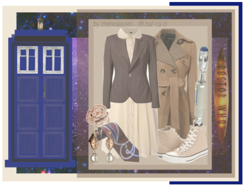 The 10th Doctor | Doctor Who by chelsealauren10 featuring rose jewelry