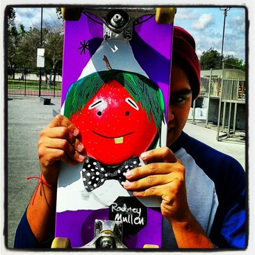 I like fruit #fresh #freshboard #skatelife #skateboarding #almost #almostakateboard #cloud  (Taken with instagram)