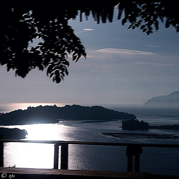 Morning Light on Sentani  — beautiful light reflected on Sentani water, gently removed haze on the surface of Sentani Lake.   #nature #travel #sunrise #photo #papua #indonesia #iamdreamcatcher  (Taken with instagram)