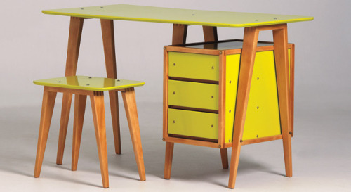 Yellow Desk