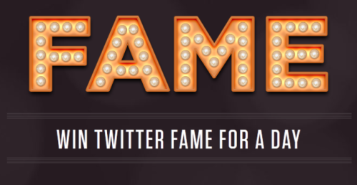 "So, there was this service on Twitter called ""@FAME,"" which was something of a weird/novel concept — basically, you install this plugin, and you got entered into a daily raffle. If you won the raffle, all the other FAME users would auto-follow you for a day. After a day, those users unfollowed you automatically, with the option to refollow. Cool idea, right? Well, Twitter didn't think so — they banned the app for an undisclosed terms of service violation, saying it violated the spirit of the platform. The company says it'll try doing this on another platform instead. Should they come to Tumblr?"