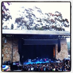 . #radiohead on their way . #santabarbara #california #santabarbarabowl (Taken with instagram)