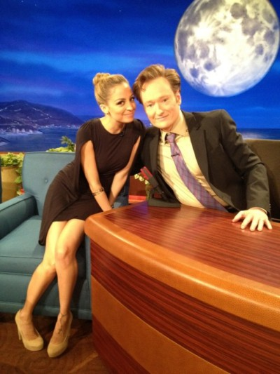nicole will be on conan tonight at 11pm EST