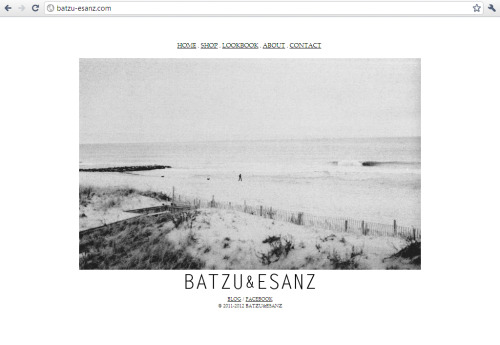 Check out our website! We've updated some things for the warm weather. - cover photograph - about page - contact  <3