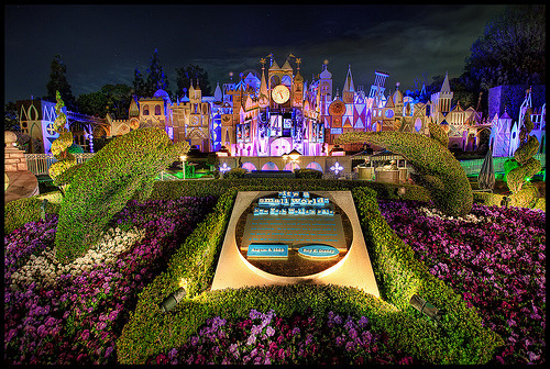 4:45 A.M. at Small World - One More Disney Day #22 - Disneyland (by Gregg L Cooper)