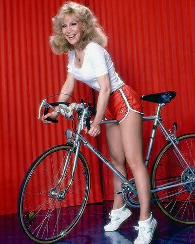 "HAPPY FRIDAY. RIDE YOUR BIKE THIS WEEKEND. Like Ms. Eden here.  Major Nelson and Jeannie lived on Cocoa Beach. Stroll out there in the coming weeks and all you'll find is shaved-down folks on tri bikes. If Major Nelsen was any kind of astronaut, he'd be rollin' down the strand on perhaps the coolest bike in all history: a Spacelander. That's all we've got. And if you've now got the ""I Dream Of Genie"" theme song stuck in your head, I'm sorry."