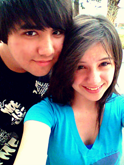 Fabian & I got our hair cut today. <3