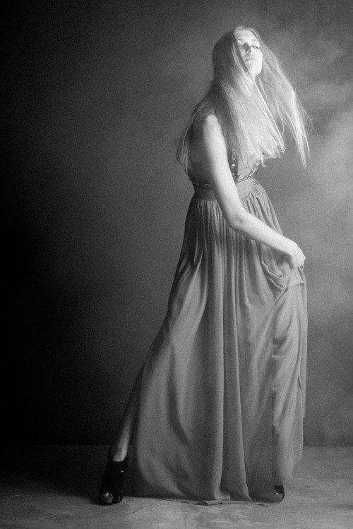"""Through Smoke and Darkness"" Photographer: Lynn Lane Creative Direction: Carrie Courtney Styling/Wardrobe: Vico Puentes Hair/MUA: Jenni Davis Model: Allyson Cook (Page Parkes, NY Model Management, LA Models, Stars Model Management)"