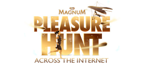 MAGNUM PLEASURE HUNT The Pleasure Hunt is a fully interactive experience where you run, jump, drive and fly across real brand sites in the hunt for a Magnum Temptation. http://pleasurehunt.mymagnum.com