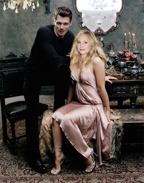 Клаус и Кэролайн. Мой ФанАрт. Klaus and Caroline. My fan art.