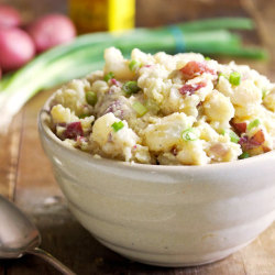 Smashed Potato Salad click image for recipe