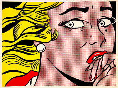 Roy Lichtenstein - Crying Girl (1963)