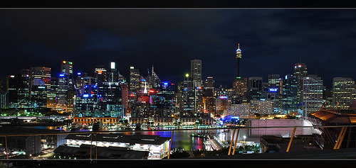 someboyinsydney:  Sydney skyline by alexpenev