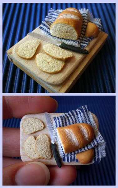 intricatelyinsane:     Miniature Sliced Breadby ~vesssper