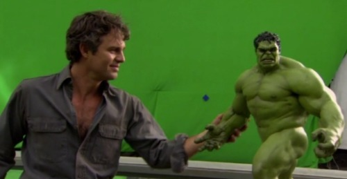 "20 Minutes Of Behind-The-Scenes 'Avengers' Footage And A Big Fat (Most Likely True) Rumor. In case you couldn't tell by the barrage of Avengers-related posts lately, we're pretty stoked for this movie. First up, let's get the juicy gossip out of the way. The way /Film tells it, at the end of tonight's press conference at the Avengers premiere, Robert Downey Jr. said that the cast would be shooting a final scene after the event.  The crowd laughed, but Marvel Studios head Kevin Feige seemed notably irritated that Downey had made the comment. Could it be that he let the cat out of the bag? Or was Feige just angry that he was starting false rumors, which could lead to undeliverable expectations? As the crowd was abuzz, Downey responded that he wasn't kidding. And then, wait for it, said ""No more questions!"" At that point, the cast and crew exited the stage, leaving all the geek journalists wondering if Downey was joking or was he telling the truth.  How can anybody possibly be irritated by Robert Downey Jr? The dude's 100% charm and awesomeness. But it doesn't end there. Marc Ruffalo told The Playlist:  ""We're shooting a scene tonight. I'm not sure exactly where it's gonna go. All I know is that someone came in with the costume and said, 'Here's some wardrobe. We don't know where you're going to be or what you're doing.' "" Ruffalo said. We asked if it will be in the ""The Avengers"" when it hits theaters Ruffalo added, ""Yeah. So I'm like, 'All right, when are we doing that?' Today after we're done.""  It's probably safe to assume they shot some sort of after-the-credits clip. I mean, the movie hits theaters in TWO FREAKING WEEKS. What else could it be? While we scratch our heads dreaming up what the final scene could involve, enjoy this buttload of behind-the-scenes clips from TrailerAddict embedded in sequential order over on /Film. I tried embedding them here, but Tumblr was being whack and they weren't showing up. /Film: Watch 20 Minutes of Behind the Scenes Footage From 'The Avengers'"