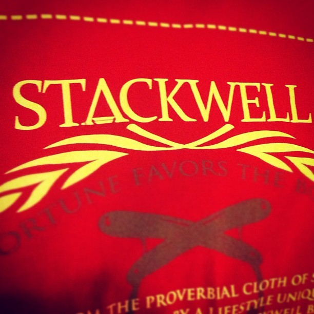 #stackwell all day (Taken with instagram)