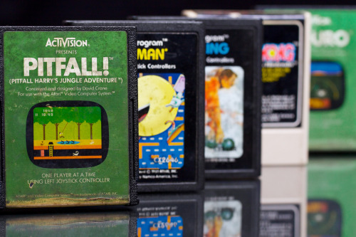 it8bit:  Classic Collection Image by Mike Vande Ven Jr.  Pitfall was definitely my favorite atari game.