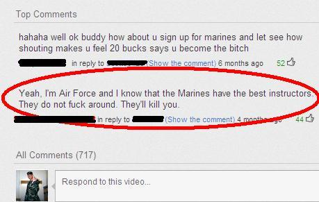 allranksclub:  This made my day!  RAH!!!  Oh Goodie! And I get to see them in 2 Days (&12 hours) time! WOO! OORAH!