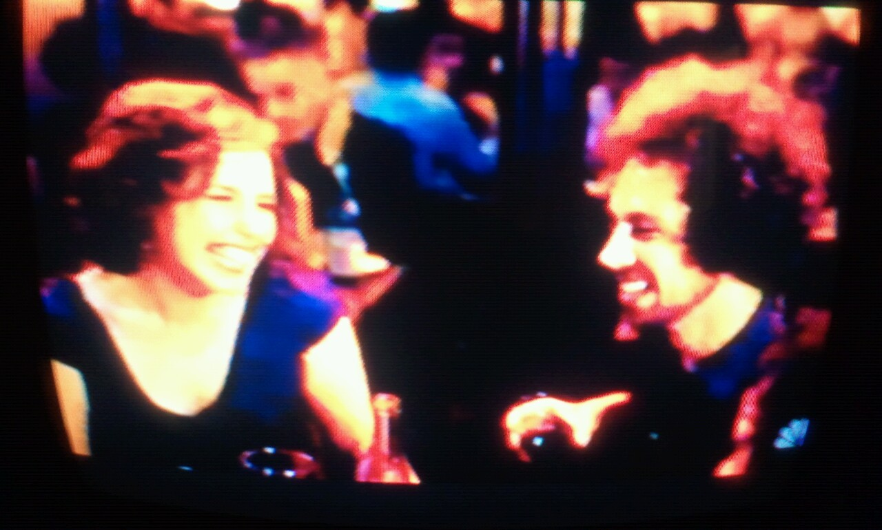 Is that Zach De La Rocha in the opening of SNL next to Vanessa Bayer?