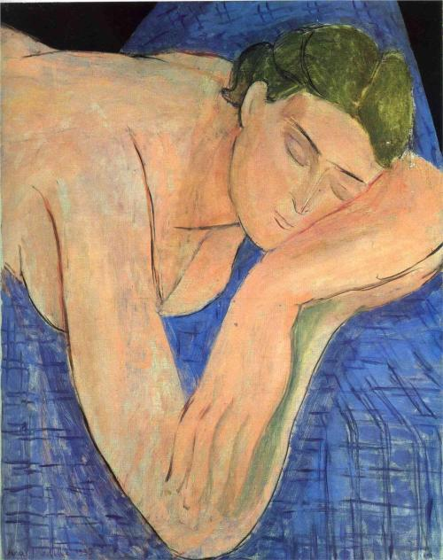 artemisdreaming:  The Dream, 1935 Henri Matisse Large image:  HERE Detail