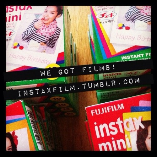 instaxfilm:  WE GOT FILMS!
