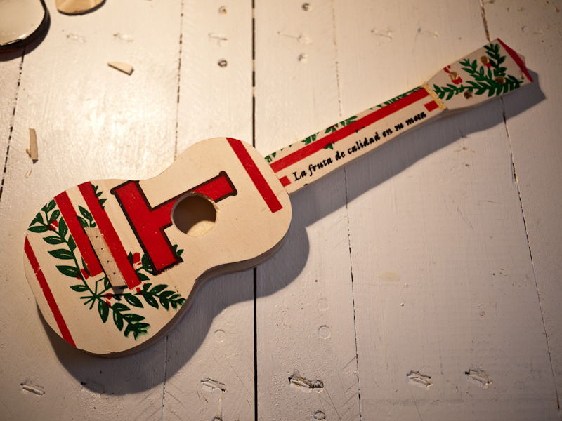 Fruit box ukelele (in process)