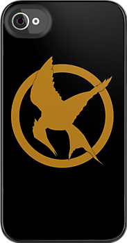 Mockingjay iPhone case Get it here: http://www.redbubble.com/people/rapplatt/works/8720091-mockingjay