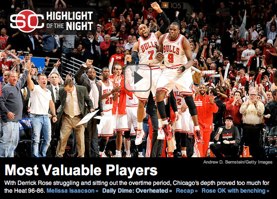 @quietstorm_32 & @LuolDeng9's epic chest bump on the front page of ESPN.com