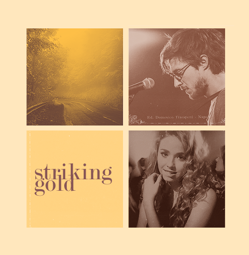 'Striking Gold', a fan-made film (withdrawnred had requested for Freya Mavor and Arthur Darvill):  Sage, 20, is the quiet daughter their mother brought up, however neglectfully, while Alex, now a kind, mellow man of 26, had been given away to a wealthy family in England when he was two. The long-lost siblings meet at their mother's funeral.Although they lead different lives, he a freelance writer/musician moping about after a bad breakup, she a tailor who mends clothes for her neighbors, they both lack the same thing: the drive to succeed - or rather, do - anything in life. Perhaps, she is the wake-up call he needs, and he hers -Set in the small city of Inverness, this is a heartwarming and hilarious tale of family, coming to terms with your heritage and giving a loved one a good kick up the arse.