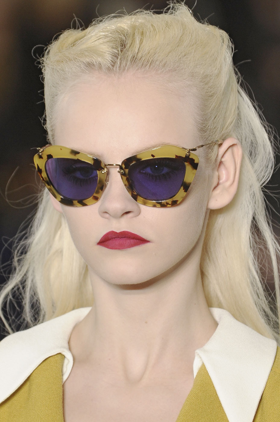 dixias:  Ginta Lapina at Miu Miu Fall 2011