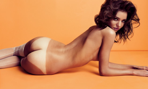 Dette er Miranda Kerr, Victoria's Secret angel.