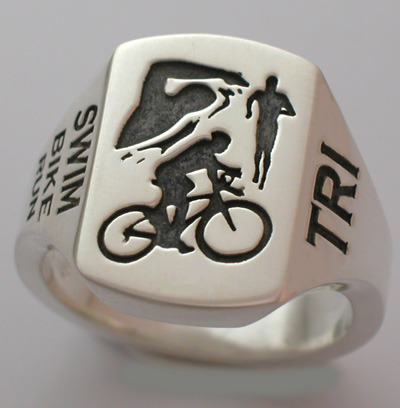 Want a nice ring like this one for winning a triathlon?